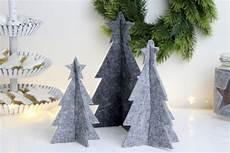 Malvorlagen Tannenbaum Selber Machen diy 3d tannenbaum aus filz einfach selber machen
