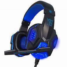 Gaming Headphones With Lights New Soyto Stereo Surrounded Deep Bass Led Light Gaming