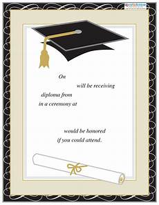 Graduation Announcements Templates Free 40 Free Graduation Invitation Templates Template Lab