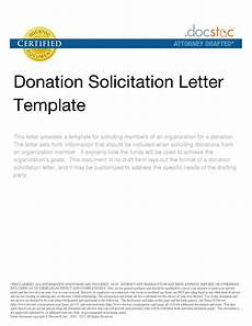 Sample Of Letter Of Solicitation For Donation Solicitation Letter For Donations Templates Free Printable