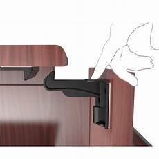 invisible design child safety cabinet locks baby proofing