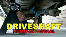 2000 Chevy Blazer 4 Wheel Drive Light Flashes Driveshaft Remove And Install How To Youtube