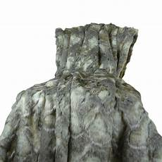 shop plutus luxury grey ivory faux rabbit fur throw