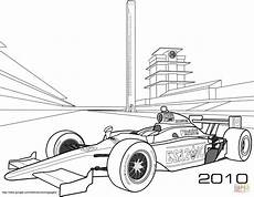 Malvorlage Rennauto Kostenlos Indy Race Car Coloring Page Free Printable Coloring Pages