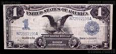 Silver Certificate Dollar Bill Value Chart One Dollar Bill Silver Certificate Quot Black Eagle Quot Large