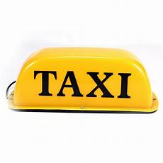 Taxi Yellow Light Clip Waterproof Magnetic Taxi Dome Light Cab Sign Car Light