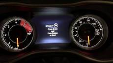 Service Transmission Light 2016 Jeep Cherokee 2016 Jeep Cherokee Service Car Oil Life Light Reset How To