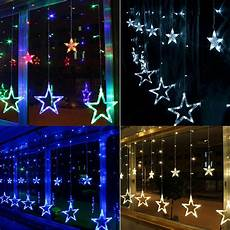 Window Lights 3m 48 Led Lights Acrylic Star Indoor Window Wall Curtain