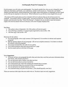 Autobiography Writing Template 40 Autobiography Examples Autobiographical Essay