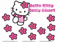 Hello Kitty Potty Training Chart Hello Kitty Potty Training Charts Potty Training