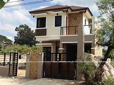 Small 2 Story Floor Plans Modern Zen House Design Philippines Simple Small House