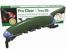 Tmc Uv Light Tmc Pro Clear Ultima Uv Clarifier 30w Amp 55w Koi Logic