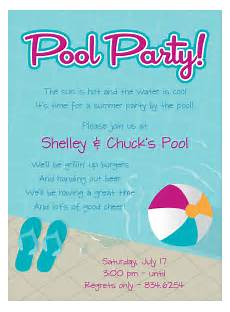 Pool Party Invitations Wording Pool Party Free Online Invitations Swimming Pool Party