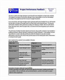 Manager Feedback Free 7 Sample Manager Feedback Forms In Ms Word Pdf