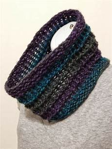 jovial knits loom knit cowl ridgeway cowl