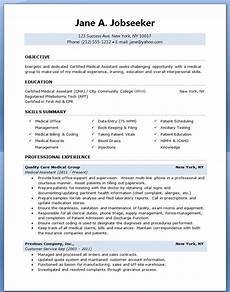 Sample Medical Resume Medical Assistant Sample Resume Sample Resumes