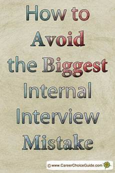 2nd Interview Tips Avoid The Internal Interview Mistake Almost Everyone Makes