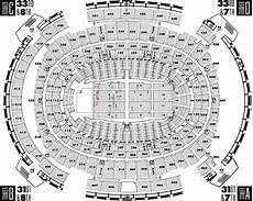 Msg Seating Chart Concert