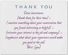 Thank You Card For Job Interview What To Write In A Thank You Note After An Interview The