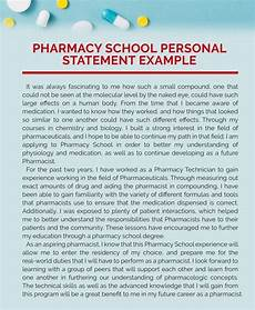 Pharmacy Essays 8 Printable Personal Statement Pharmacy And Some Important