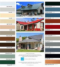 Tin Roofing Color Chart Standard Colors For Residential Metal Roofing Panel