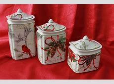 222 Fifth: Holiday Wishes, Canister Set   Christmas 1