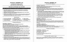Sample Resume Qa Tester Experienced Qa Software Tester Resume Sample Monster Com