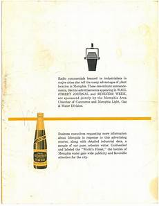 Memphis Light Gas And Water Jobs Quot Memphis On The Move Industrially Quot 1965 Page 6 Of 6