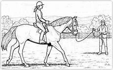 ausmalbilder zum ausdrucken ausmalbilder pferde mit reiter