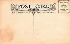 Old Postcard Template Vintage Postal Charm Mehker