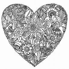 Ausmalbilder Erwachsene Herz Ausmalbilder F 252 R Erwachsene Herz Zum Ausdrucken Kostenlos