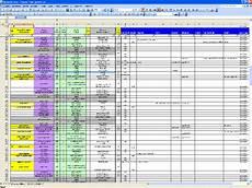 Sample Excel Sheet 5 2 Process Flow Interface