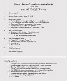 Business Agenda Example How To Write An Organized Agenda For A Productive Meeting