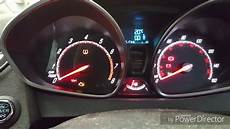 Ford Fiesta Low Tire Pressure Light How To Reset Ford Fiesta St Tpms Light Reset 2012 Onwards