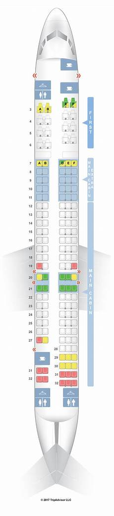 Delta Boeing Douglas Md 80 Seating Chart Seatguru Seat Map American Airlines Mcdonnell Douglas Md