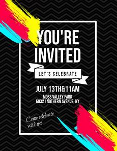 Invitation Flyer Template Invitation Flyer Template Postermywall