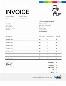 Courier Invoice Format Excel Courier Invoice Template Free Download Send In Minutes