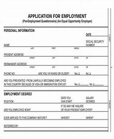 Free Online Job Applications 49 Job Application Form Templates Free Amp Premium Templates