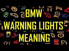 Bmw Dashboard Warning Lights Meaning Bmw Warning Lights Meaning Youtube