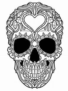totenkopf malvorlage kostenlos coloring and malvorlagan