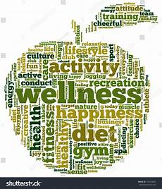 Words Related To Fitness Conceptual Illustration Of Tag Cloud Containing Words