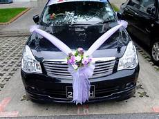 wedding cars decoration romantic decoration