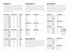 Answer Helmet Size Chart Answer Racing Size Chart Mx Riding Gear And Accessories
