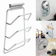 pot pan lids cabinet door mount lid chrome kitchen rack