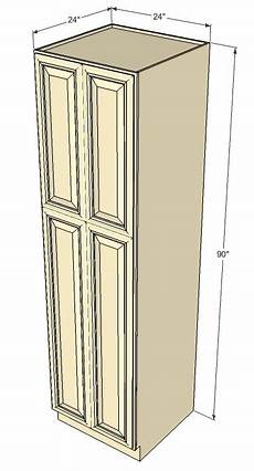 tuscany white maple pantry cabinet unit 24 inch wide x 90