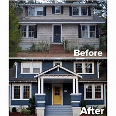 20 home exterior makeover before and after ideas see