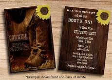 Western Wedding Invitations Templates Free Cowboy Party Invitations Templates
