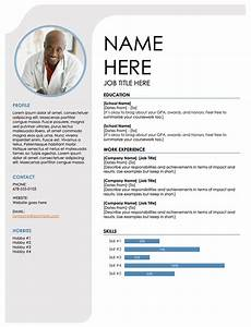 Free Headshot Template 25 Free Resume Templates For Open Office Libreoffice