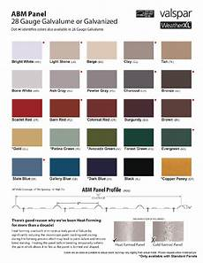 Ab Martin Color Chart Ab Martin Roofing Supply