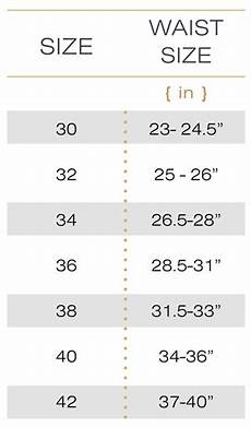 Shapewear Size Chart Waist Shaper Vest Hourglass Waist Trainers
